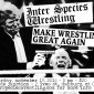 Make Wrestling Great Again Flyer - Gun